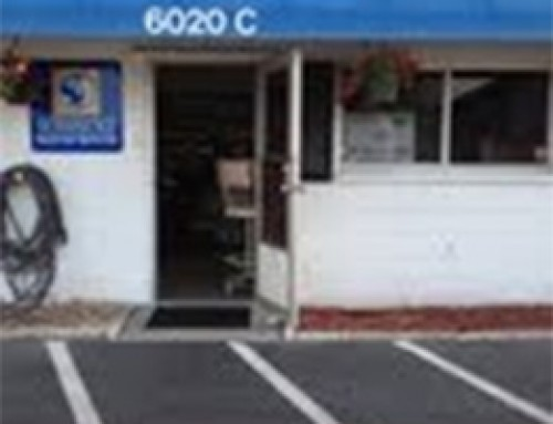 South Store Entry