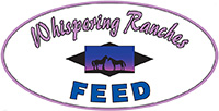 Whispering Ranches Feed Logo